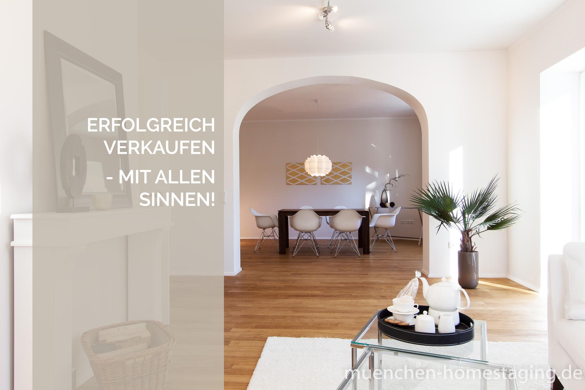 Münchner Home Staging Agentur – Erfolgreich verkaufen mit allen Sinnen