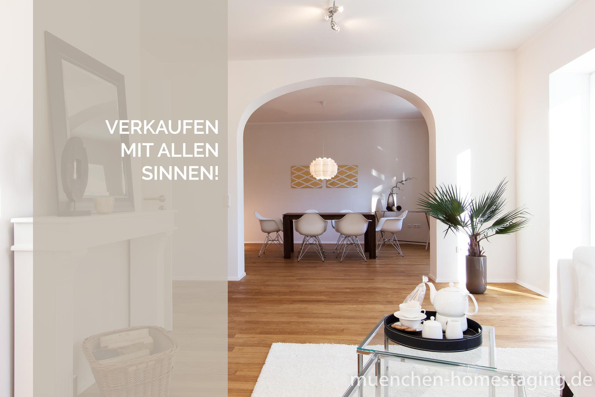 Münchner Home Staging Agentur – Verkaufen mit allen Sinnen