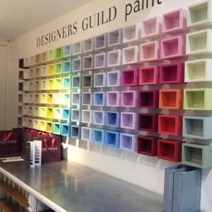 Farben für die Wandgestaltung