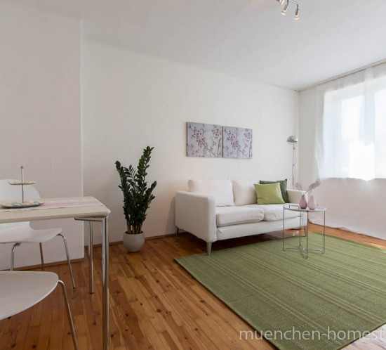 Home Staging - Single Appartement München