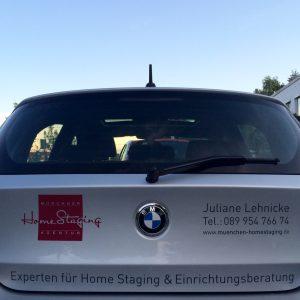 Münchner Home Staging Agentur - Firmenauto1