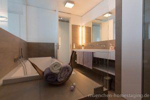 Münchner HOMESTAGING Agentur - Badezimmer - nachher -